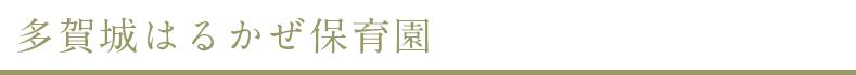 タイトル-多賀城はるかぜ保育園